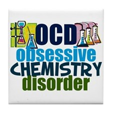 Funny Chemistry Tile Coaster