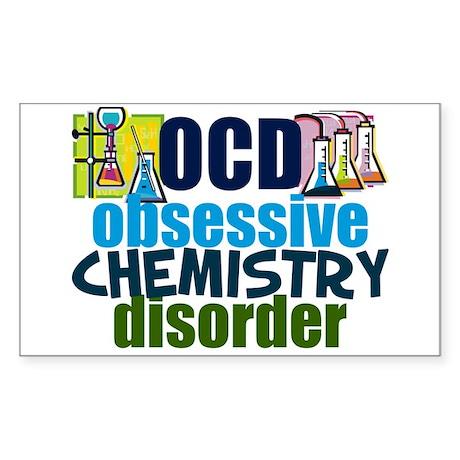 Funny Chemistry Sticker (Rectangle)