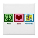 Peace love chemistry Drink Coasters