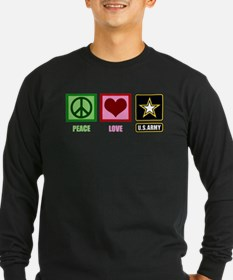 Peace Love Army T