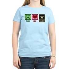 Peace Love Army T-Shirt