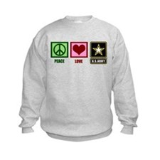 Peace Love Army Sweatshirt