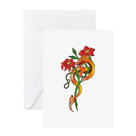 Dragon Dance Greeting Card