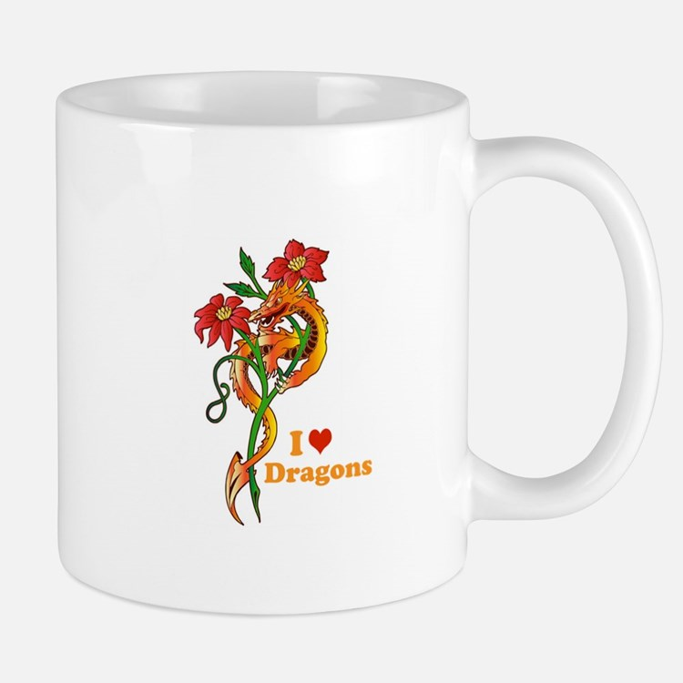 Dragon Dance Small Small Mug