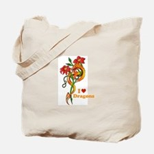 Dragon Dance Tote Bag