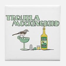 Tequila Mockingbird Tile Coaster