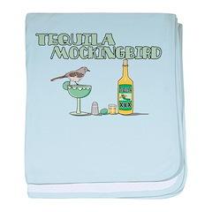 Tequila Mockingbird baby blanket