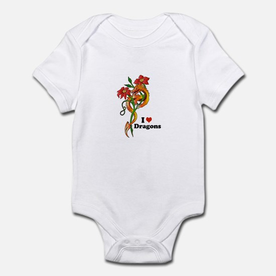 Dragon Dance Infant Bodysuit