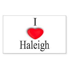 Haleigh Rectangle Decal