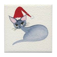 Christmas Stray Cats Coaster
