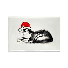 Christmas Cat Magnet
