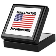 Grant a Fair Path Keepsake Box