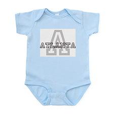 Letter A: Atlanta Infant Creeper
