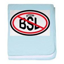 Stop Breed Specific Legislation (BSL) baby blanket
