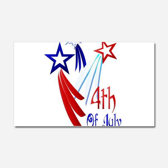 4th Of JULY Car Magnet 12 x 20