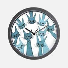Lucca Stray Cats Clock