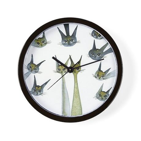 Marshgate Castle Stray Cats Clock