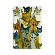 Kalamazoo Stray Cats Magnet