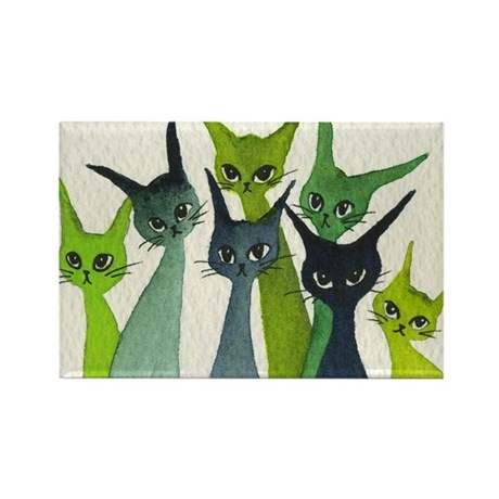 Greenville Stray Cats Magnet