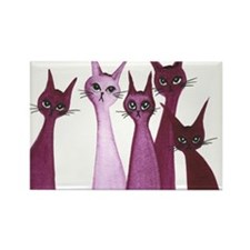 Christmas Island Stray Cats Magnet