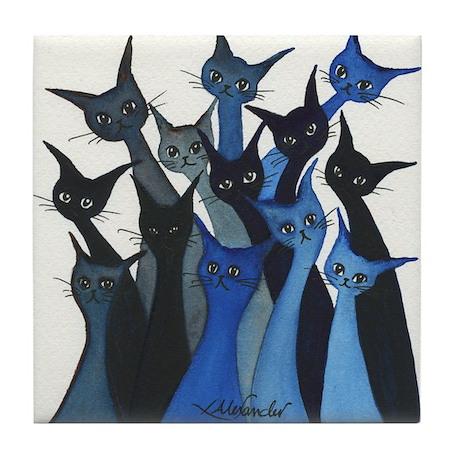 Escondido Stray Cats Coaster