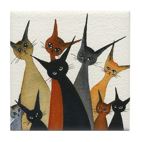 Irvine Stray Cats Coaster
