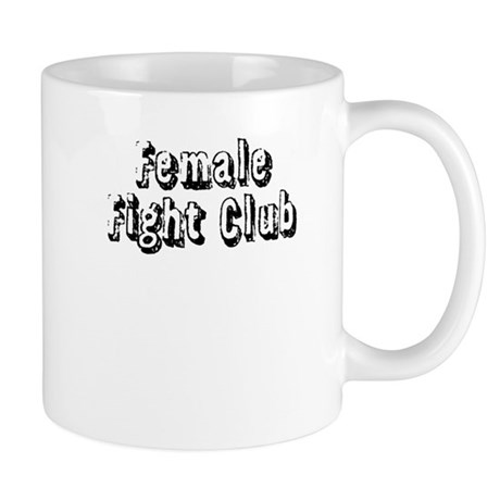 Female Fight Club Mug