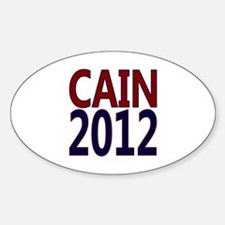 Herman Cain 2012 Decal