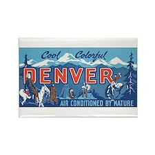 Denver Rectangle Magnet
