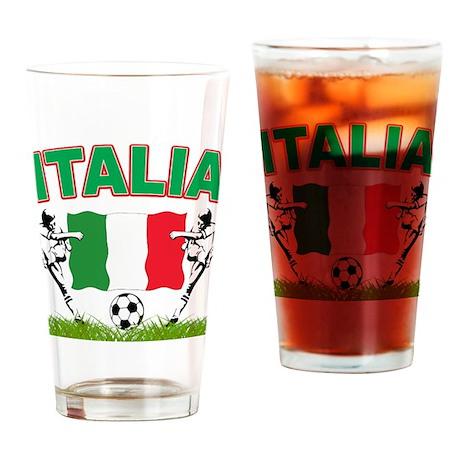 2010 World Cup Italia Pint Glass