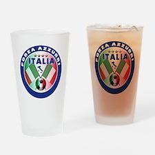 Italian Forza Azzurri Pint Glass
