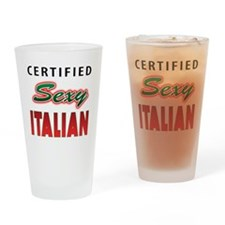 Sexy Italian Pint Glass