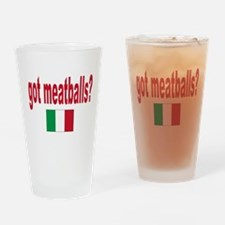 got meatballs Pint Glass