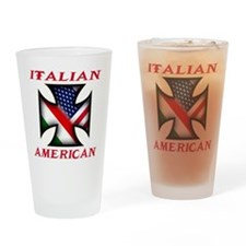 Italian american Pride Pint Glass