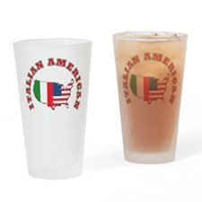 Italian american Pint Glass