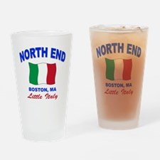 North End Boston,MA Pint Glass