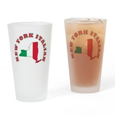 New York Italian Pint Glass