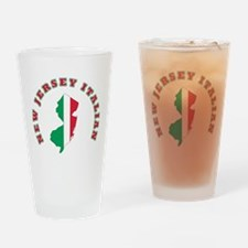New Jersey Italian Pint Glass