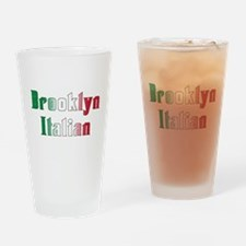 Brooklyn New York Italian Pint Glass