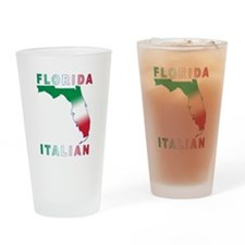 Florida Italian Pint Glass
