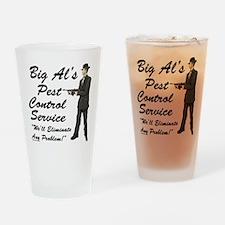 Big Al's Pest Control Service Pint Glass