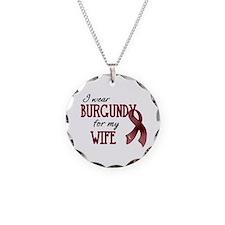 Wear Burgundy - Wife Necklace