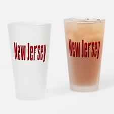 New jersey Pint Glass