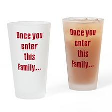 Soprano family Pint Glass