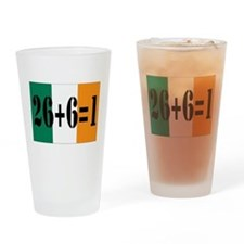 Irish pride Pint Glass