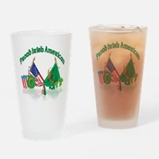 Irish American Pint Glass