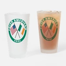 Irish American pride Pint Glass