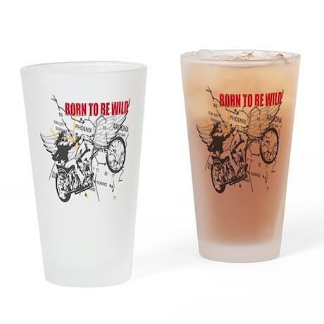 Bikers Pint Glass