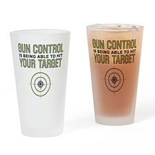 Gun Control Pint Glass