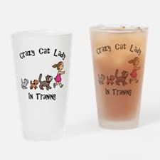 Crazy Cat Lady In Training Pint Glass